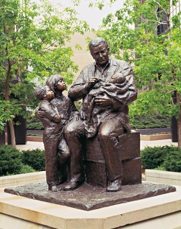 Polio Statue